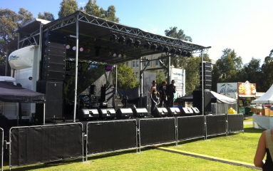 How to select the right stage equipment supplier for an outdoor event