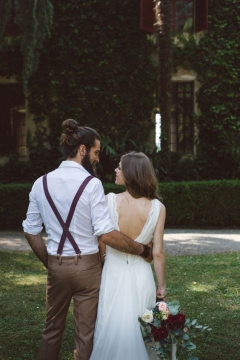 Hipster groom Dress a wedding suit with a twist