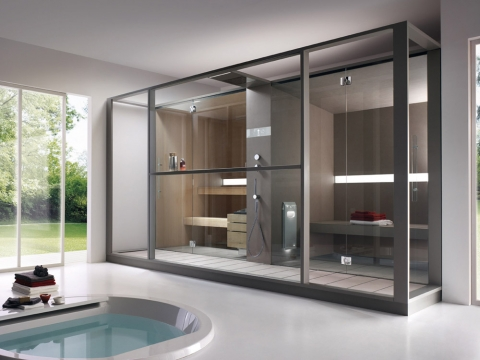 Make Your Home More Luxurious with a Great Home Sauna Picture