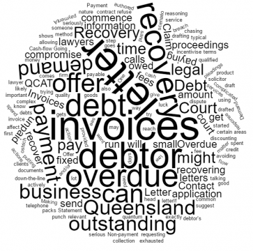 Small family enterprises - The best way to chase your debtors