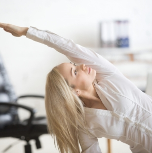 Stay Active and Exercise at Work- It's Important