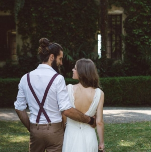 Hipster groom? Dress a wedding suit with a twist