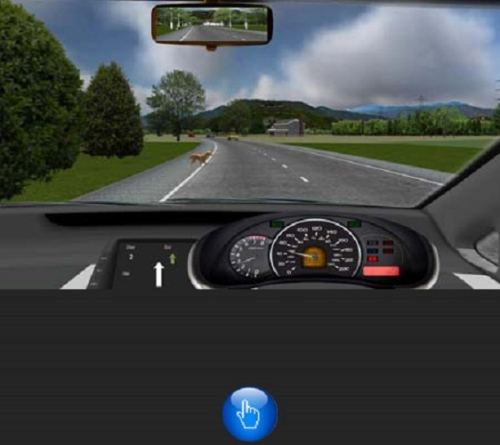 Need to evaluate your driving skills? Use a driving simulator