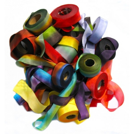 What can you find in a ribbon store?